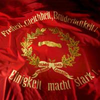 Sie ist der Stolz der Deutschen Sozialdemokratie. Die Fahne von 1863